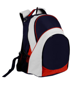 Harvey Back Pack Navy/Red/White