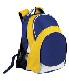 Harvey Back Pack Royal/White/Gold