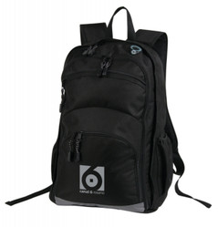 Transit Back Pack Black/Grey
