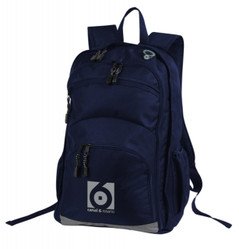 Transit Back Pack Navy/Grey