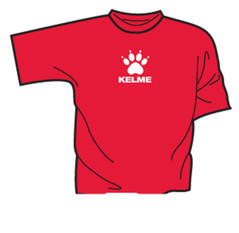 Basic Two T-Shirt Red/White