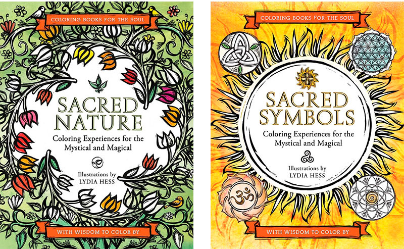 Adult Coloring Books by Lydia Hess