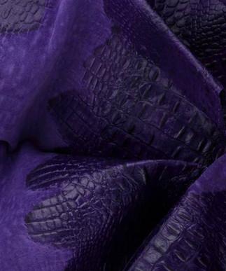 Croc Suede Purple