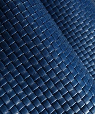 Basket Weave Royal Blue