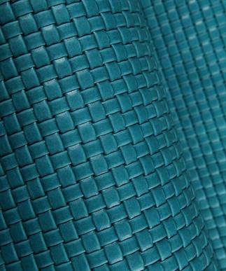 Basket Weave Turquoise