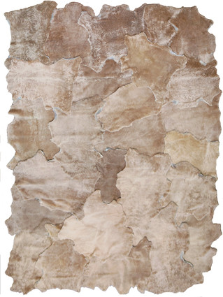 Tossed Shearling Rug