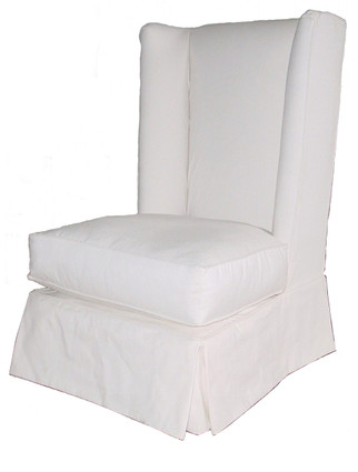 W9059 Miami Wingback Chair with Slipcover