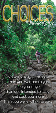 Church Banner featuring Kalalau Hiking Trail with Inspirational Theme