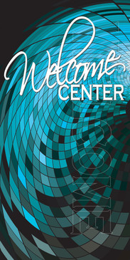 Church Banner featuring Modern Theme for Welcome Banner