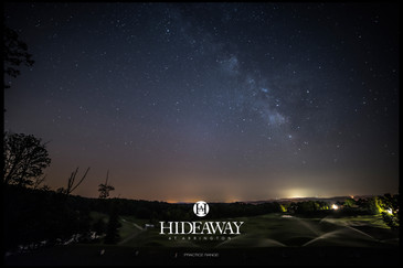 Hideaway at Arrington Practice Range & the Milky Way