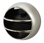 '68-'77 SIDE AIR VENT BALL (CHROME/BLACK)