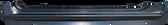 04-12 COLORADO EXTENDED CAB ROCKER PANEL, LH