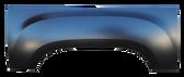 2007-2013 GMC Sierra upper wheel arch w/6' or 8' bed, RH