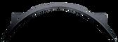 1997-2014 F-150, Styleside pickup rear inner wheelhouse, driver's side. Replaces F65Z9927887AD