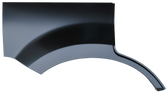 2008-2012 Ford Escape rear wheel arch w/o molding holes, RH