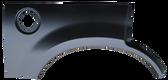 2002-2005 Ford Explorer rear wheel arch w/o molding holes, RH