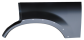 2002-2005 Explorer rear wheel arch with molding holes, driver's side