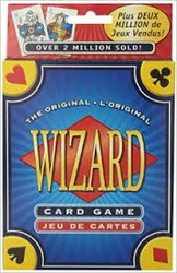 Players try to win the exact number of tricks they bid. This easy to learn card game is the ultimate game of trump.  3-6 players     10+