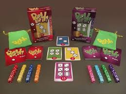 Take turns rolling dice and matching cards trying to score 40 points; each roll presents new opportunities with fun decisions to make.  Look out other players may steal the card you're shooting for… so hurry pick up the dice and roll for it!