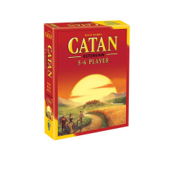 Allows you to add up to two more players to the game Catan.  5-6 players     10+     60-90 min