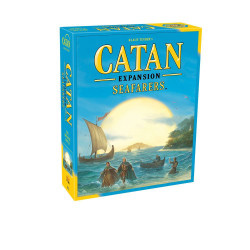 This is an expansion to the game Catan. Now players can build shipping lanes.  3-4 players     10+     60-120 min
