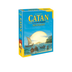 You can settle Catan and sail the sea with up to 6 players.  5-6 players     10+     90-120 min