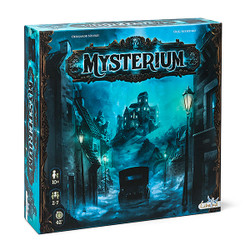 All players share the same goal, trying to figure out who did the crime, where it took place and with what weapon. One player takes on the role of the ghost and the others play as psychics. The ghost, unable to speak attempts to communicate by sending visions which are represented by illustrated cards.  2-7 players     10+     42 min