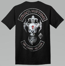 Mens Skull Rocker Kross Tee - Black