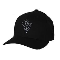 Black Flex-Fit Cap - Grey CK Puff