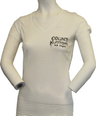 Women's Slim Fit Kross Tee - White