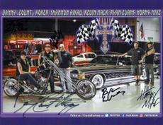 Crew Photo - Autographed