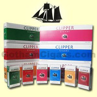 Clipper filtered little cigars 100's