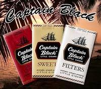 Captain Black filtered little cigars 100's
