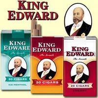King Edward filtered little cigars 100's