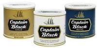 Captain Black Pipe Tobacco Tins