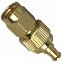 Coaxial Cable Adapter: MCX-male/plug to SMA-male (plug)