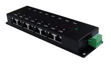 PoE Injector: Gigabit 8 Ports Passive: 12VDC - 48VDC