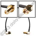 RP-SMA-male (right-angle) To RP-SMA-female (right angle w/bulkhead): 6.5-inch cable