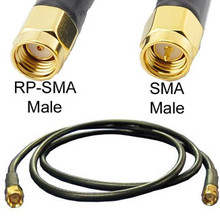 Cable: SMA male To RP-SMA male: 19-inch cable