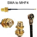 MHF4 To SMA-female Cable: 2 inch, 4 inch, 6 inch, 8 inch, 10 inch, 1-FT, 14-inch, 16-inch