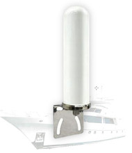Dual-Band LTE Antenna: 698-960/1710-2700 MHz 4/6dBi:  Marine Grade with L-mount.