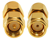 Adapter SMA male to RP-SMA-male Reverse Polarity SMA WiFi Coupler