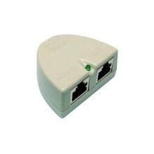 PoE injector w/ DC jack 2.1mm. Compatible 5v, 12v, 18v, 24v, 48v Power Supplies. Passive POE