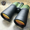 Day/Night 30X50 Multi-Coated Military Green Zoom Binoculars w/Pouch Hunting