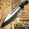 """16"""" MTECH BLACK TACTICAL SURVIVAL MACHETE SWORD HUNTING FIXED BLADE KNIFE"""