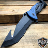 "10.5"" HUGE Military Tactical Spring Assisted Open Pocket Rescue Knife Gut Hook"