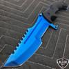 "11"" CSGO Huntsman Blue Fixed Blade"