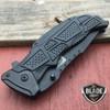"""9"""" MTECH BLACK TACTICAL SPRING ASSISTED POCKET KNIFE"""
