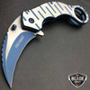 3 PCS TAC FORCE Tactical Spring Assisted Open Karambit FOLDING Pocket Knife