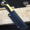 3 PC Straight Edge Razor Fixed Blade Cleaver TANTO Hunting Knife Karambit SET
